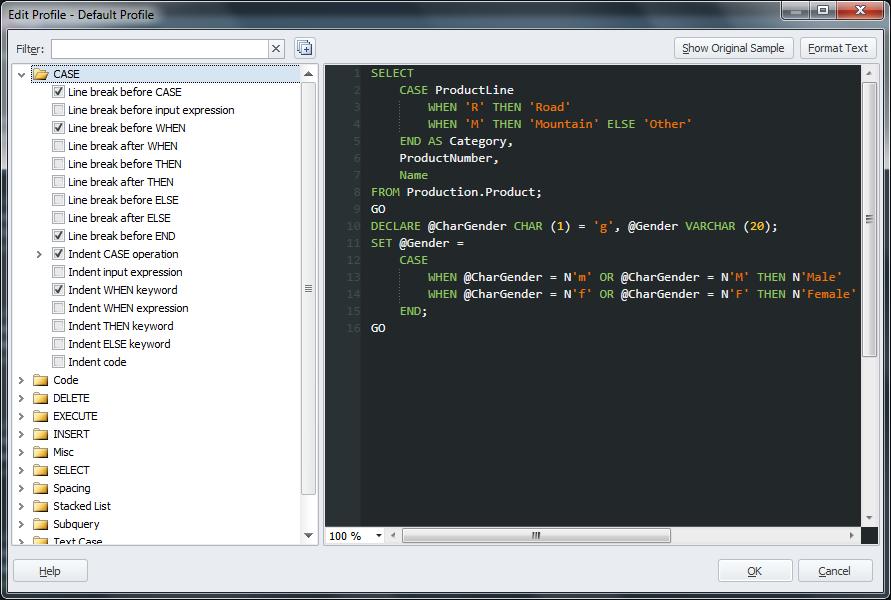 SQL Complete Configuração